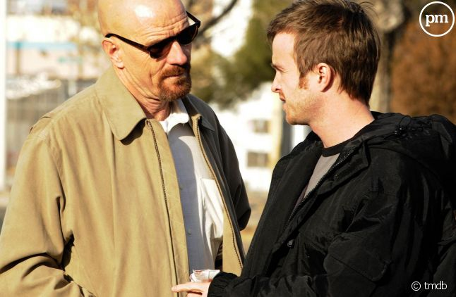"""Bryan Cranston et Aaron Paul dans """"Breaking Bad"""""""
