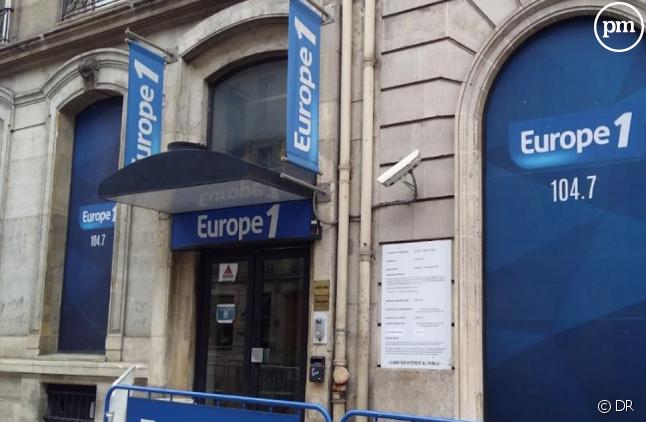 Les anciens locaux d'Europe 1 rue François Ier