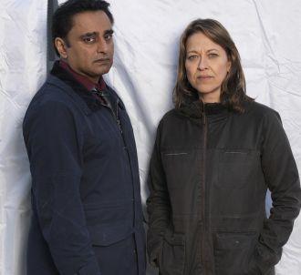 Sanjeev Bhaskar et Nicola Walker dans 'Unforgotten'