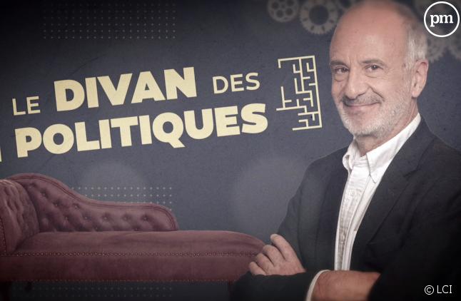 """Gérard Miller dans """"Le divan des politiques"""""""
