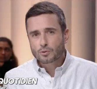 Julien Bellver dans 'Quotidien'