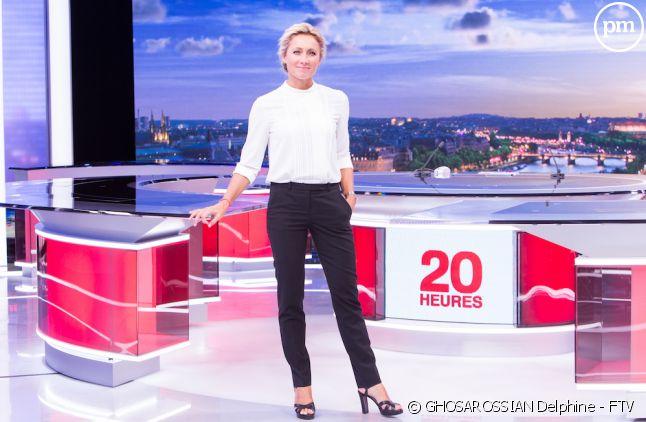 """Anne-Sophie Lapix présente le """"20 Heures"""" de France 2 depuis septembre 2017"""