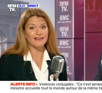 Marlène Schiappa s'accroche avec Jean-Jacques Bourdin.