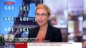 """Boycott de """"Quotidien"""" : Clémentine Autain se désolidarise de Jean-Luc Mélenchon"""