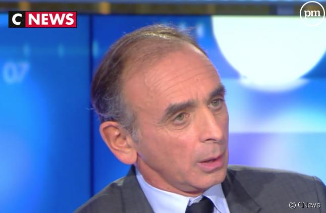 Eric Zemmour sur CNews