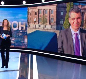 Anne-Claire Coudray rend hommage à Claude Sempère sur TF1