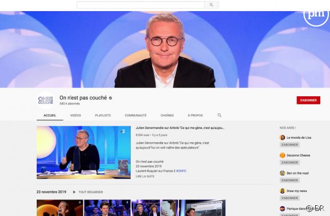 """La chaîne Youtube de """"On n'est pas couché"""""""