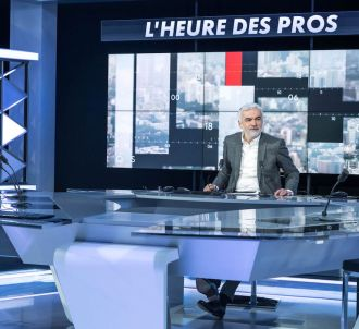 Pascal Praud sur le plateau de 'L'heure des Pros'
