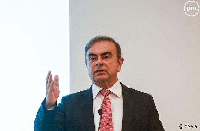 Carlos Ghosn en conférence de presse à Beyrouth le mercredi 8 janvier 2020