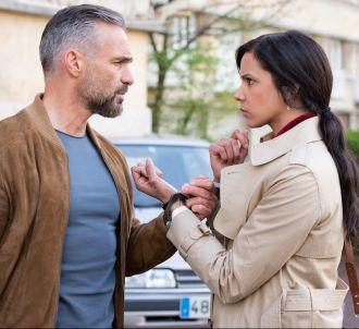 Tamara Marthe et Philippe Bas dans 'Profilage'
