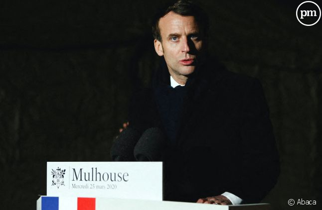 Emmanuel Macron à Mulhouse