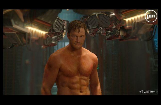 """Chris Pratt dans """"Les Gardiens de la Galaxie"""""""