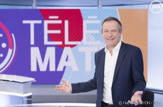 """Laurent Bignolas présente """"Télématin"""""""