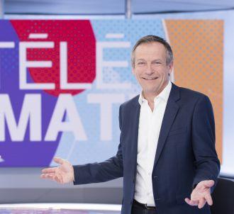 Laurent Bignolas présente 'Télématin'