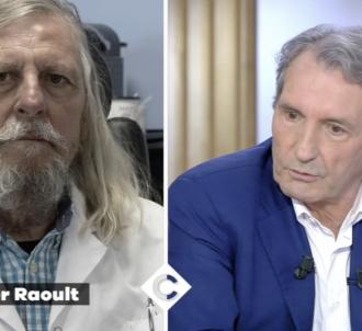 Jean-Jacques Bourdin tacle Didier Raoult dans 'C à vous'