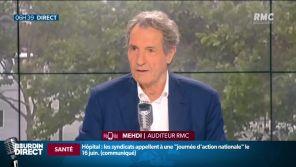 """""""Je vous quitterai le coeur brisé"""" : Jean-Jacques Bourdin évoque son départ de RMC à l'antenne"""