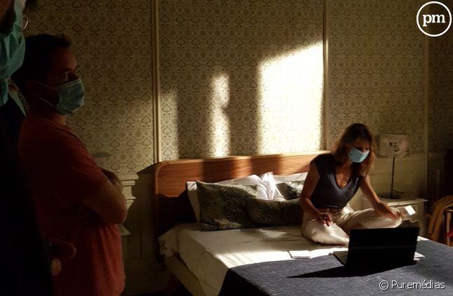 Répétition masquée pour Elodie Varlet