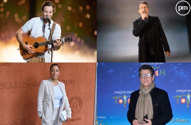 """Vianney, Florent Pagny, Amel Bent et Marc Lavoine sont les coachs de la saison 10 de """"The Voice"""""""