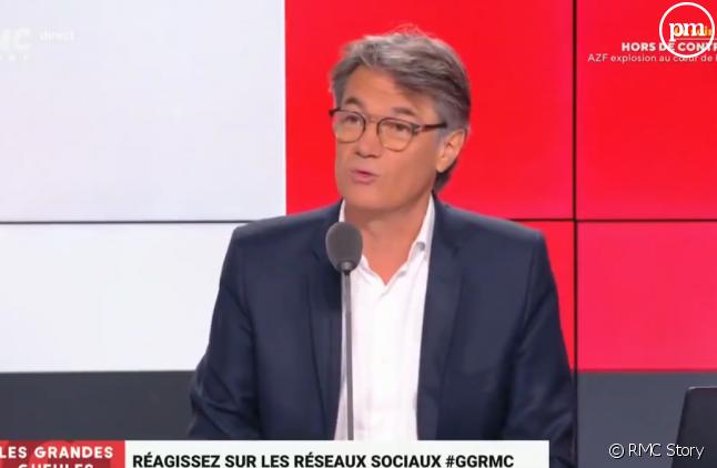 """Alain Marschall de retour sur le plateau des """"Grandes Gueules"""""""