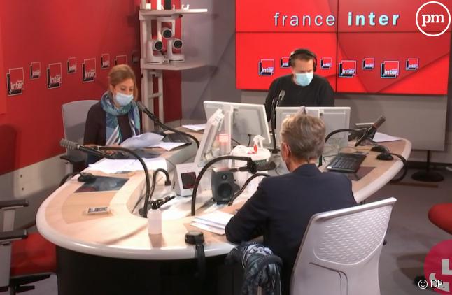 Une matinale masquée sur l'antenne de France Inter