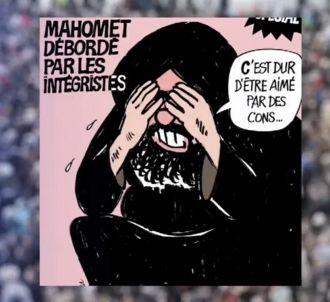 BFMTV diffuse les caricatures de 'Charlie Hebdo' sur son...