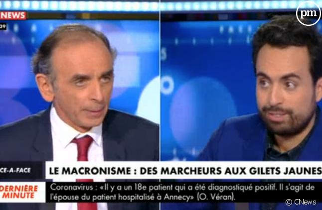 """Eric Zemmour dans """"Face à l'info"""""""