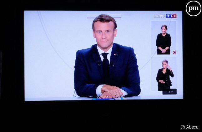 Emmanuel Macron, roi des audiences