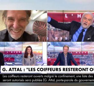 Pascal Praud râle sur CNews.