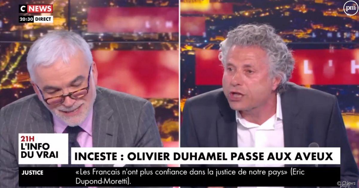 Goldnadel défend les pédos : Cnews censure son émission