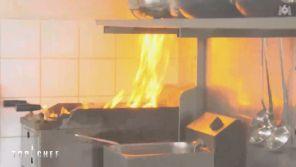 """""""Top Chef"""" : Un violent incendie se déclare en cuisine, la production évacue les lieux sur M6"""