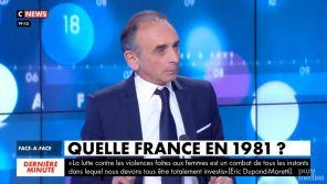 """Eric Zemmour : """"TF1 est une télévision de gauche"""""""