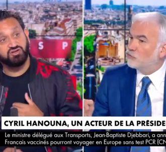 Cyril Hanouna dans 'L'heure des pros' sur CNews.