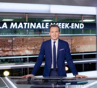 Thomas Lequertier aux commandes la matinale de CNews le...