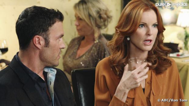 "Brian Austin Green et Marcia Cross dans ""Desperate Housewives"""