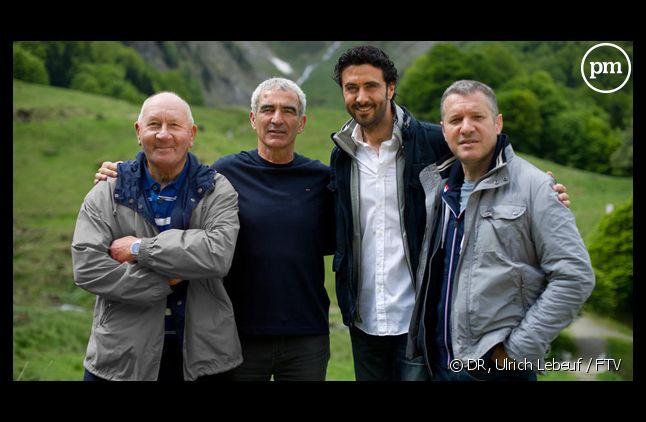"""Raymon Domenech dans """"L'étoffe des champions""""."""