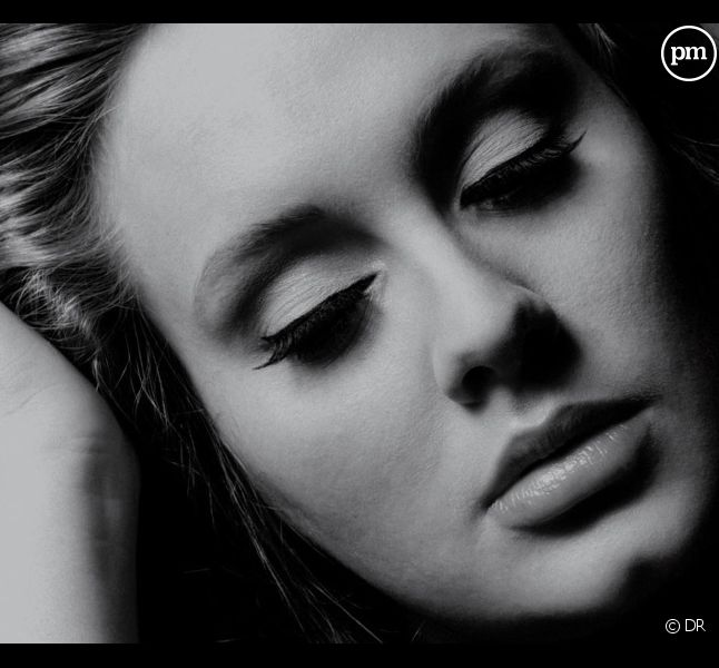 """Adele sur la pochette de l'album """"21"""""""
