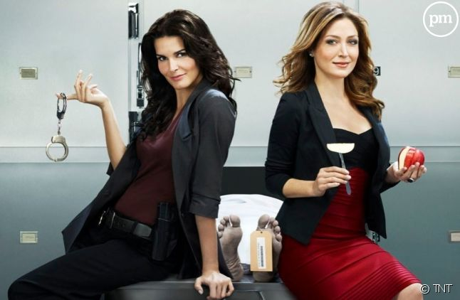 "Angie Harmon et Sasha Alexander sont ""Rizzoli & Isles"""