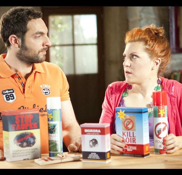 """Fabien et Emma ,le nouveau couple de """"Scènes de ménages"""""""