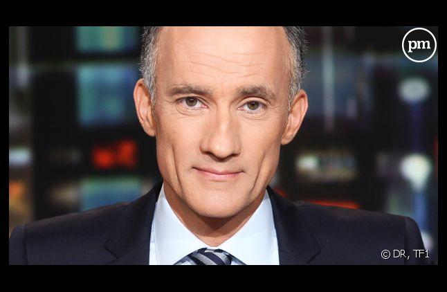Gilles Bouleau remplace Jean-Claude Narcy sur TF1.