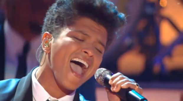 Bruno Mars lors des MTV Video Music Awards 2011