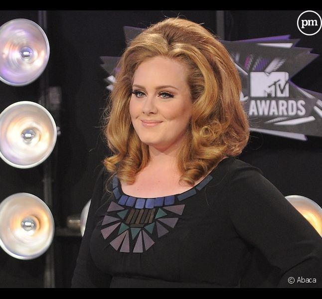 Adele aux MTV Video Music Awards 2011
