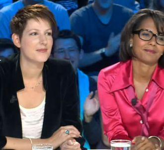 Natacha Polony et Audrey Pulvar le 3 septembre 2011 sur...