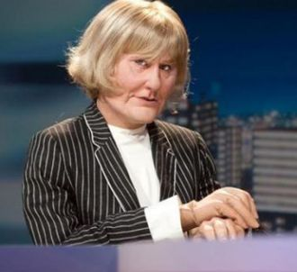 Nadine Morano, aux Guignols sur Canal +.