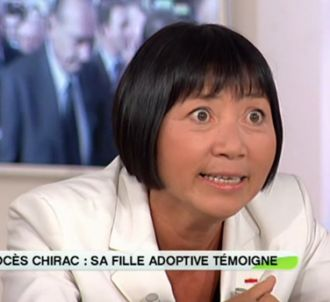 Anh Dao Traxel, fille adoptive de Jacques Chirac, dans 'C...