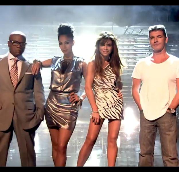 """Le jury de """"The X Factor"""" US 2011 : L.A. Reid, Nicole Scherzinger, Paula Abdul et Simon Cowell"""