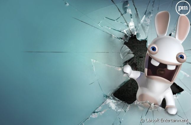 Un lapin crétin