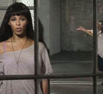 Beyoncé dans le clip de 'Countdown'
