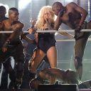 Christina Aguilera lors du concert hommage à Michael Jackson le 8 octobre 2011