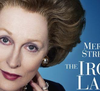 Meryl Streep sur l'affiche américaine de 'La Dame de Fer'