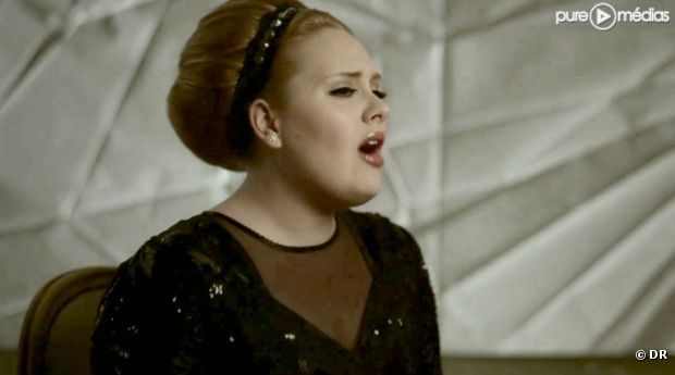 "Adele dans le clip de ""Rolling in the Deep"""